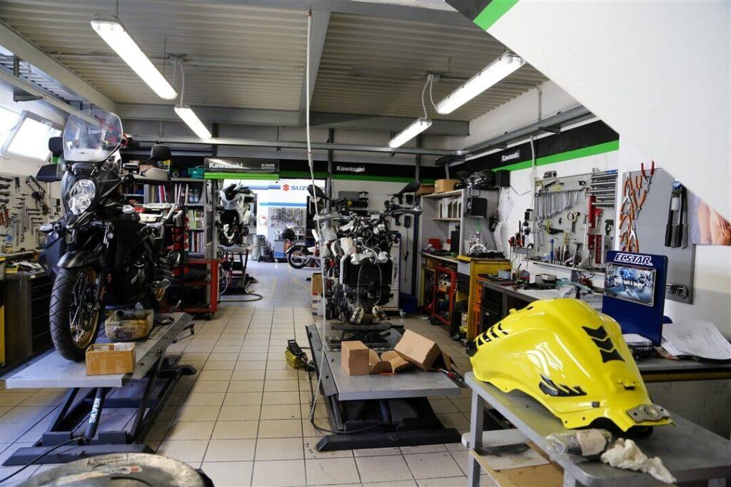 tecnomoto massa officina moto